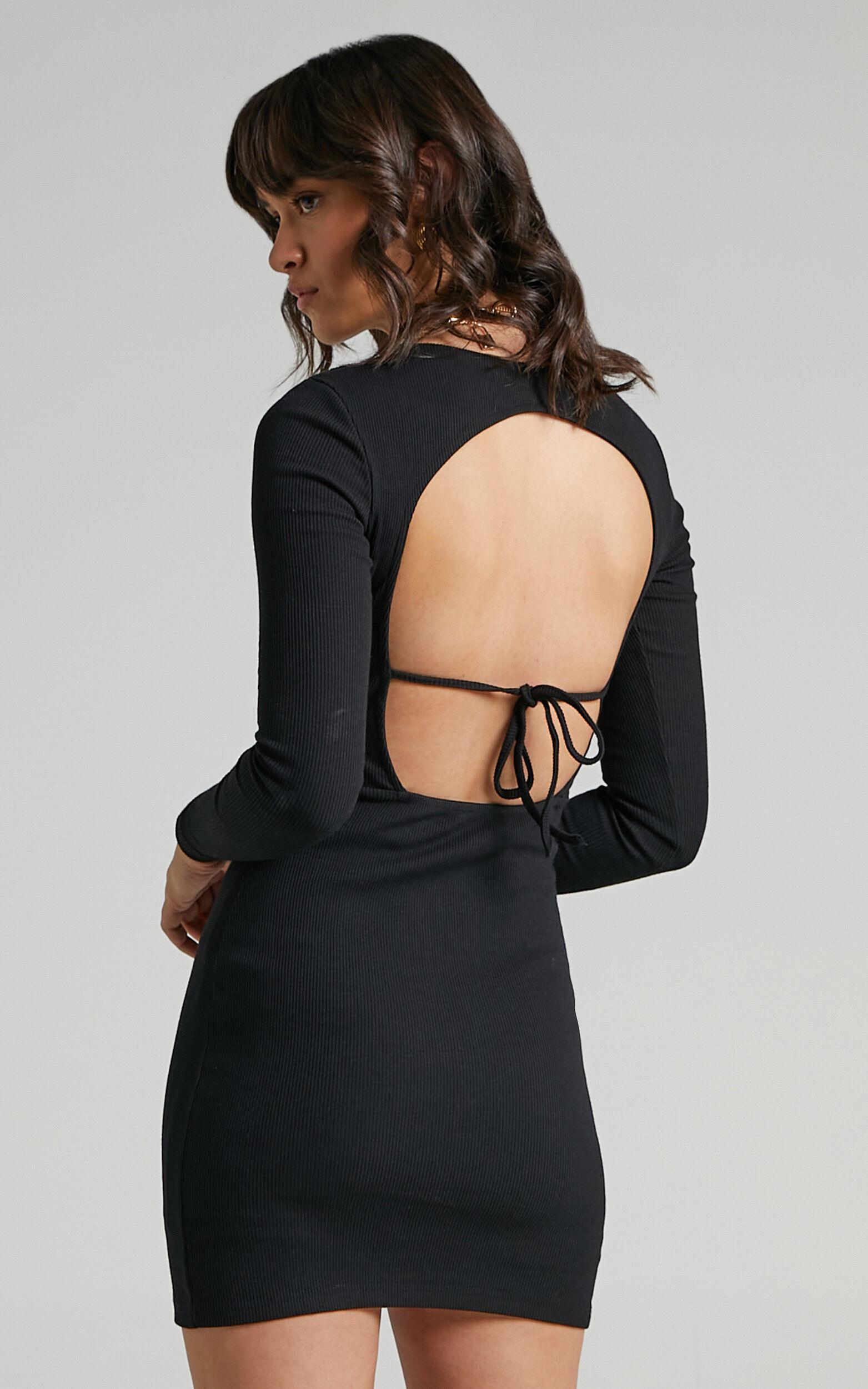 Erith Dress in Black - 06, BLK1, super-hi-res image number null