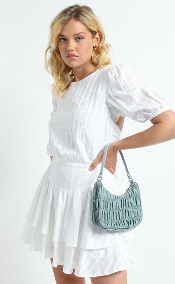 Georgia Mae - The Melrose Bag in Soft Blue Nylon