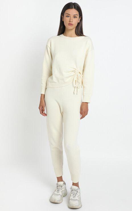 Carina Knit in White