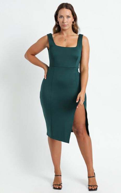 Mini Love Dress in Emerald