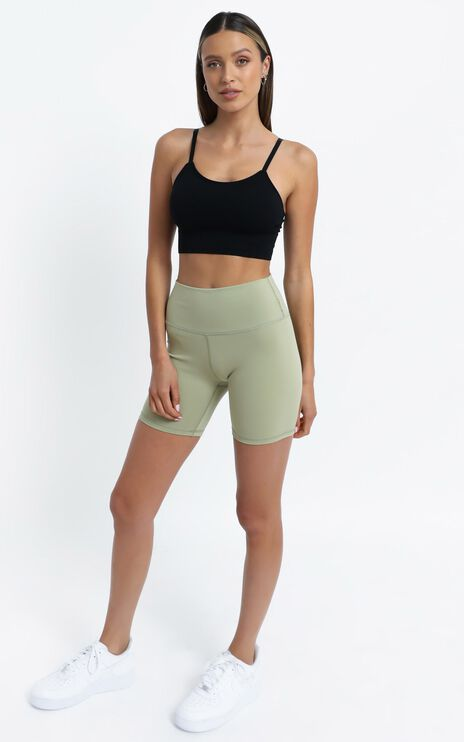 Cheska Bike Shorts in Sage