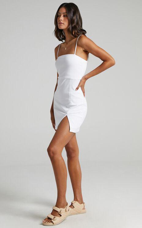 Island Babe Dress in White