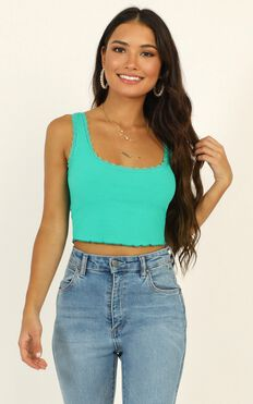 Problem Child Top In Green