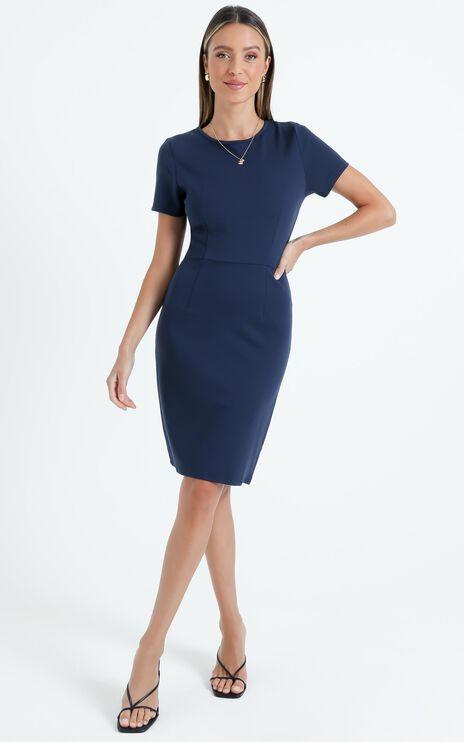 Marlie Dress in Navy