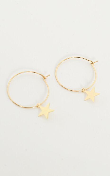 Follow Up Earrings in Gold