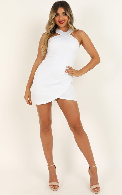 Beauty And A Beat Dress In White