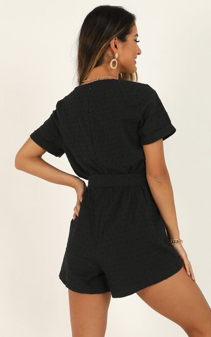 Northern Sun Playsuit in black - 20 (XXXXL), Black, hi-res image number null