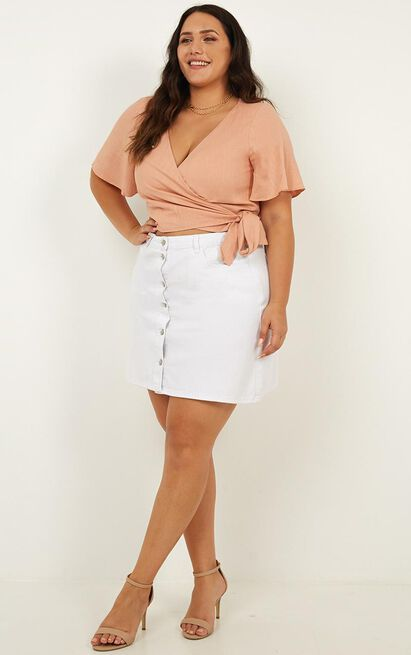 Sway Sway Top In blush - 18 (XXXL), Blush, hi-res image number null