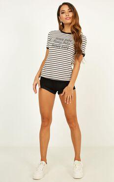 Honey Baby T-shirt In Multi Stripe