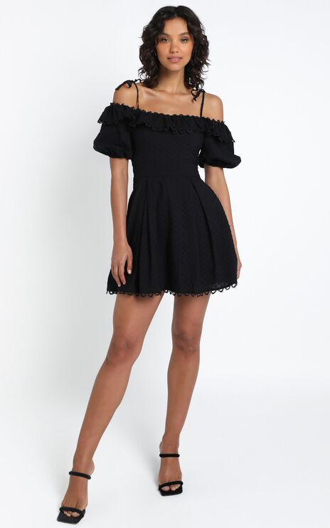 Kaira Dress in Black