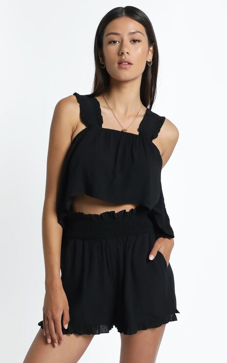 Decorah Top in Black