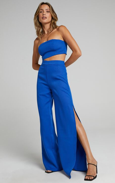 Im The One Two Piece Set In Cobalt