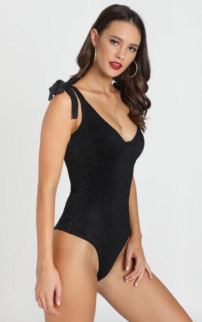 Wind Up Bodysuit in black - 12 (L), Black, hi-res image number null