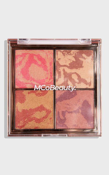MCoBeauty - The Beauty Edit Highlight & Glow Quad