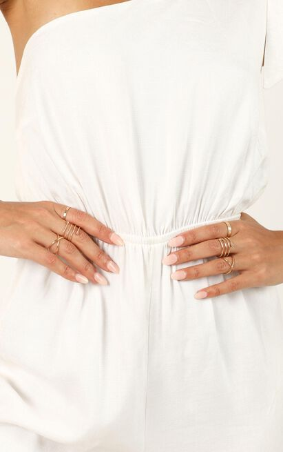 Criss Crossed Ring Set In Gold, , hi-res image number null