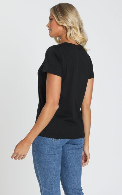 AS Colour - Maple Tee in Black - 6 (XS), Black, hi-res image number null