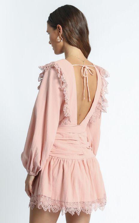 Bellevue Dress in Blush