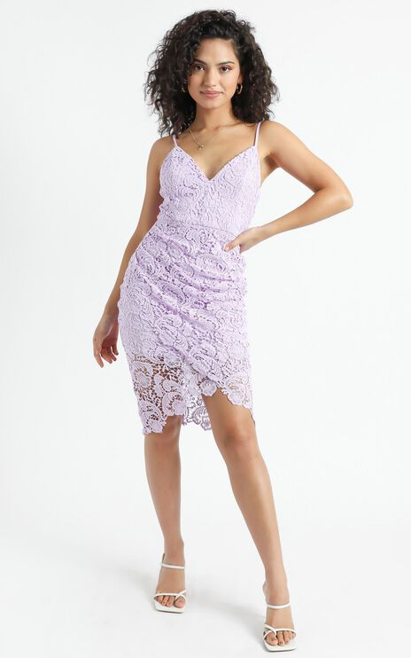 Typical Lover Dress in Lilac