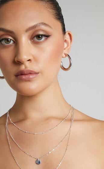Apsel Earrings in Silver