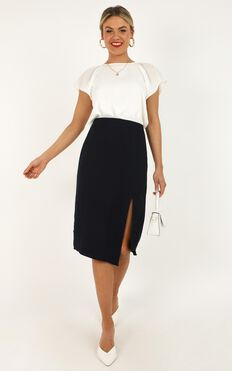 North Facing Skirt In Navy