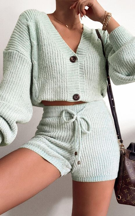 Zion Two Piece Set in Mint