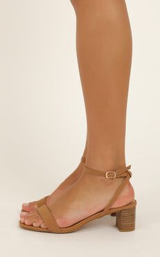 Billini - Zuri Heels In Tan Nubuck