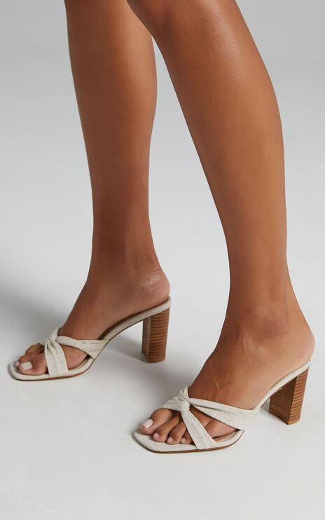 Billini - Camarilo Heels in Natural Linen