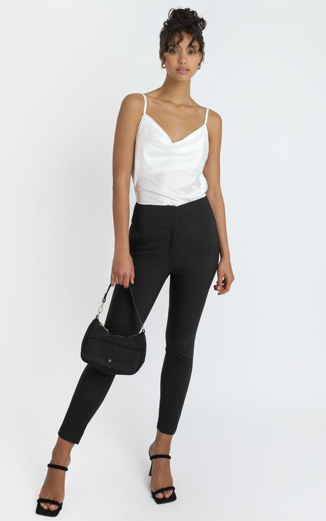 Hailey Trouser in Black