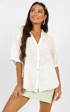 Just Beachy Shirt In White