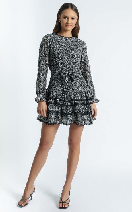 Sara dress in Leopard Print