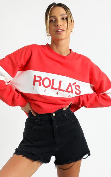 Rollas - Dusters Denim Shorts in Layla Black