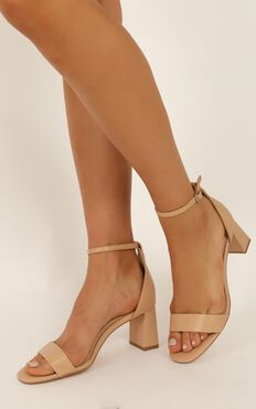 Verali - Indi Heels In Nude Smooth