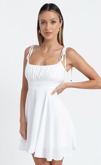 Jordan Dress in White