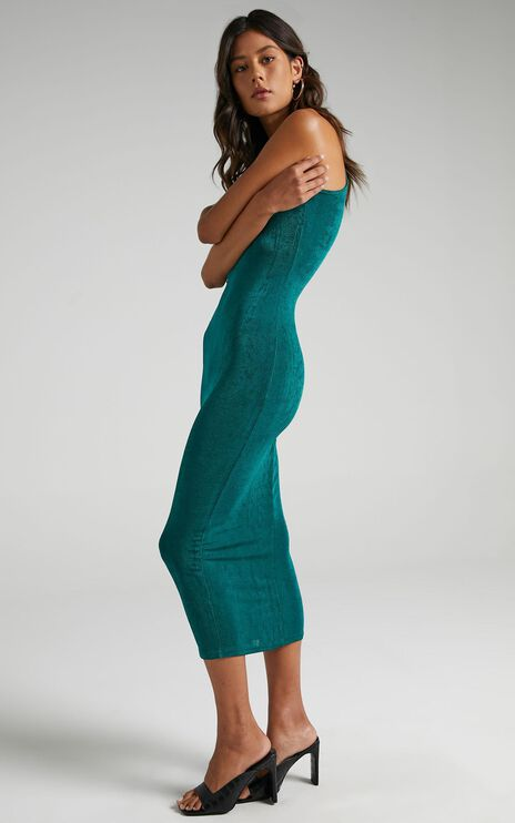 Lioness - Everlast Dress in Forest Green