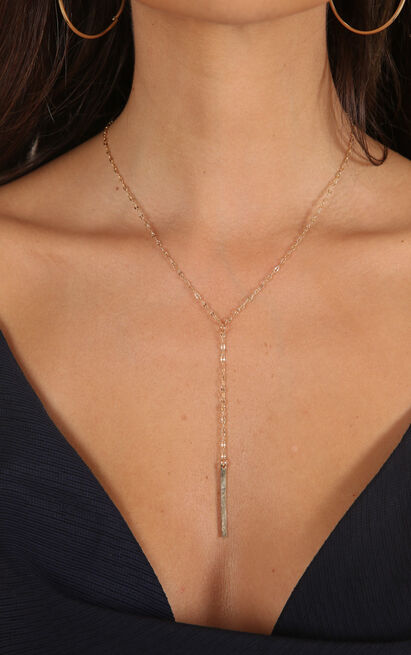 If Its Love necklace in gold, , hi-res image number null