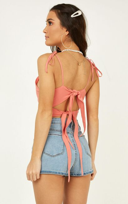 Made It Through Top in coral - 20 (XXXXL), Pink, hi-res image number null