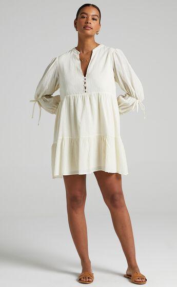 Orald Dress in Cream
