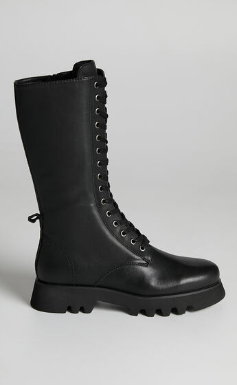 Tony Bianco - Icon Boots in Black Como