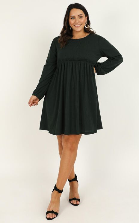 Giving Thanks Dress In Emerald