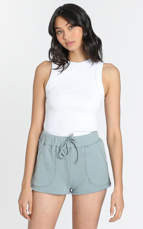 Cloud Nine Shorts in Sage