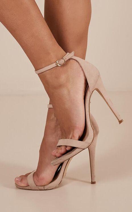 Billini - Dimity Heels In Nude Micro