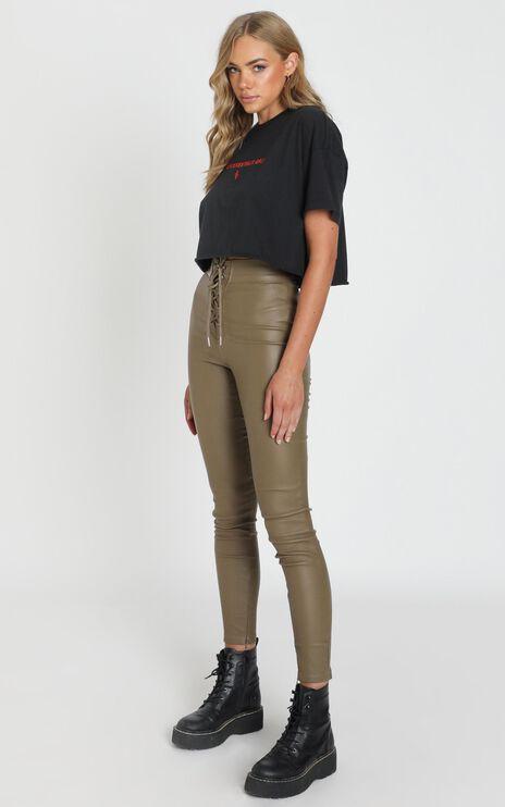 Quick Question Pants In Khaki