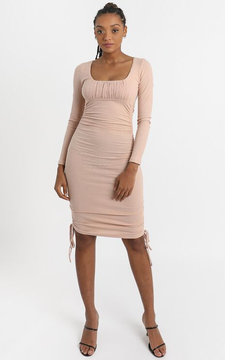 Farris Dress in Blush