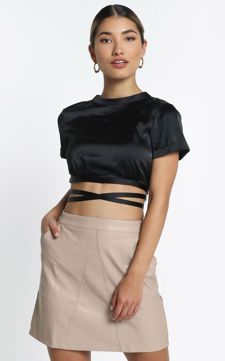 August Skirt in Beige