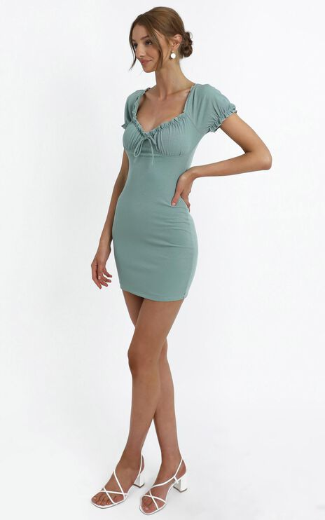 Adali Dress in Sage