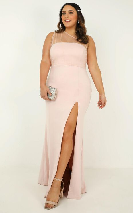 Proposing Love Dress In Blush