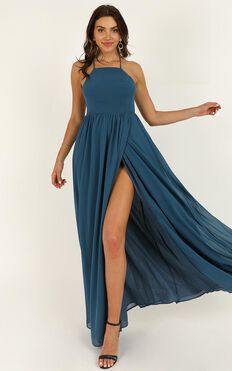 My Kind Of Prom Dress In Teal