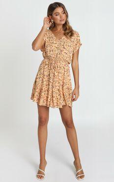 In The Stars Dress in Peach