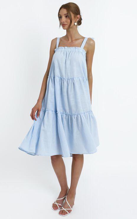 Marzia Dress in Blue