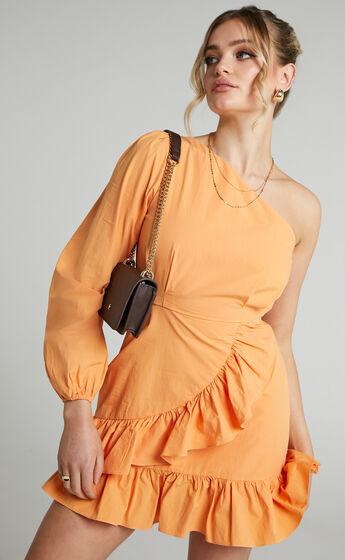 Udele Dress in Sherbet